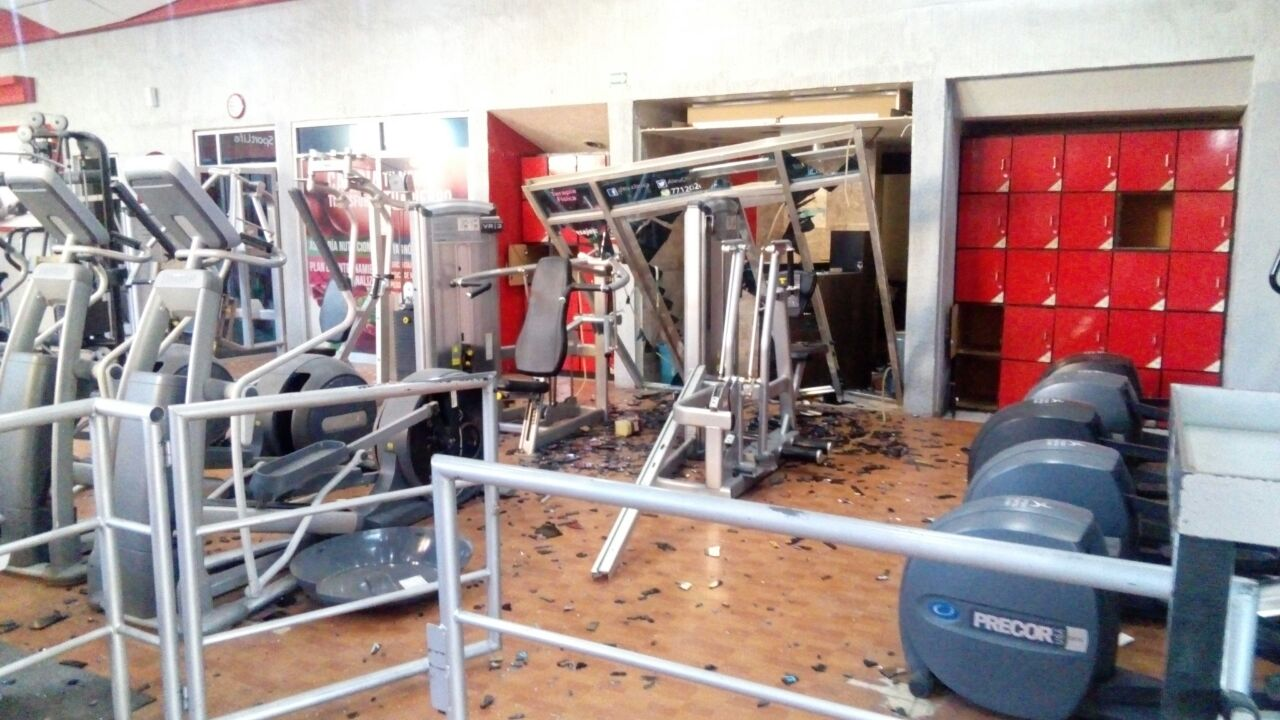 Explosi n por acumulamiento de gas en gimnasio de pachuca for Gimnasio por horas