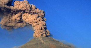Registra Popocatépetl exhalación este jueves