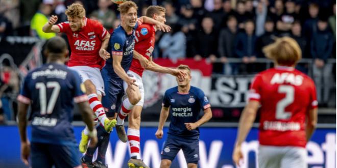 Se les escapa al PSV el título