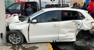 Un menor lesionado tras accidente en el bulevar Felipe Ángeles