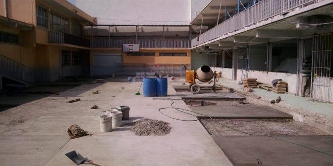 Sin clases, dos primarias de Tulancingo por remodelación