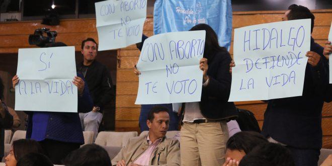 Buscan modificar iniciativa para despenalizar el aborto en Hidalgo