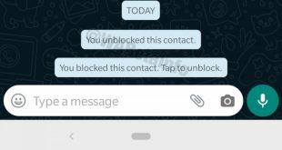 WhatsApp señala que la notificación de bloqueo solo podrá ser vista por quien bloqueó