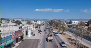 Afectan obras el tránsito sobre la carretera México-Pachuca