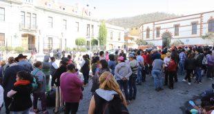 Con manifestación, piden exintegrantes de la Foideh espacio para puestos