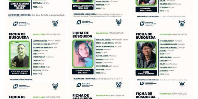 desaparecidos en Hidalgo