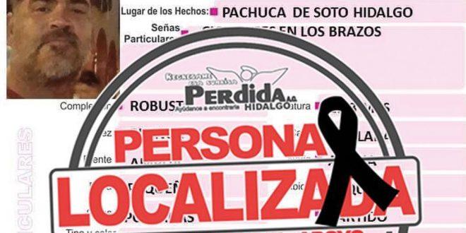 Yadir Batun Rocha, quien estaba reportado como desaparecido en Pachuca, fue hallado sin vida