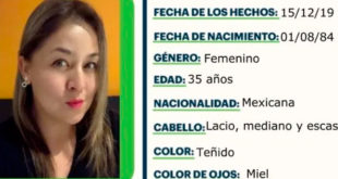 Se busca a Sandra Pérez Martínez, desapareció en Ixmiquilpan