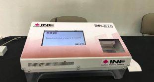 Voto electrónico, en 4 municipios para elecciones de Hidalgo