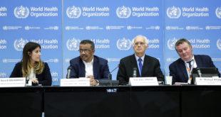 OMS aún no decide si coronavirus es una urgencia internacional