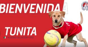 Tunita, la nueva refuerzo del Atlético San Luis de la Liga MX