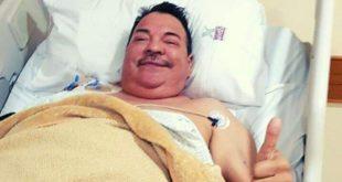 Julio Preciado se recupera tras cirugía de 11 horas