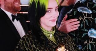 Se consagra Billie Eilish en el Grammy