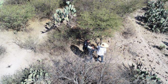 Tras dos días, encuentran a una persona extraviada en cerro de Ajacuba