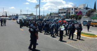 Detienen a dos elementos de la policía de Tizayuca