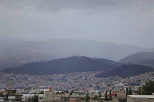 Aire polar mantendrá un clima frío y lluvias en Hidalgo