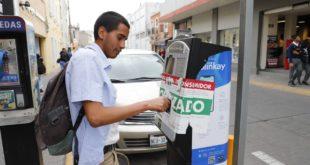 Parquímetros de Pachuca son habilitados por la Odeco