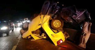 Deja accidente al menos un muerto en la México-Pachuca