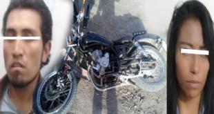 Detienen a dos personas por presunto robo a casa en Actopan