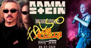 ¡No!, Los Acosta no estarán en un concierto con Rammstein
