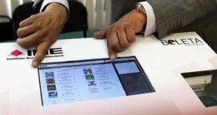 Rentará INE 40 urnas electrónicas por 4 mdp en elecciones