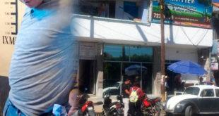 Detienen a presunto extorsionador en banco de Ixmiquilpan