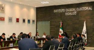 Exigen al IEE Hidalgo recursos del financiamiento público; afirman retraso