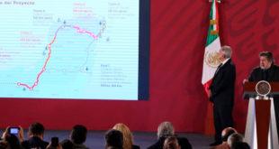 Quieren iniciar obra de Tren Maya el 30 de abril
