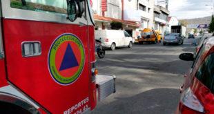 Choca pipa y camioneta en Pachuca