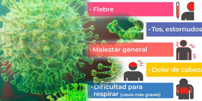 sintomas del coronavirus 2020