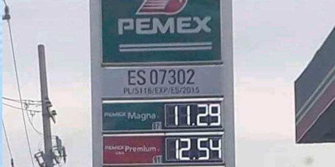 Venden Gasolina Hasta En 11.29 Por Litro En México Y